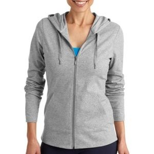 Danskin Now Women's Dri-More Core Zip Up Hoodie: